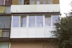 Балкон из ПВХ профиля