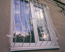 решетки на окна, заборы от 375грн м2