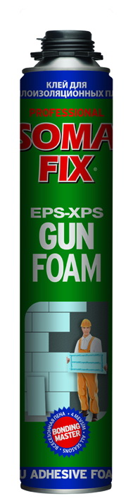 Пена-клей SOMAFIX EPS-XPS 750 мл.