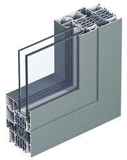Очень теплое окно Reynaers CS 86 HI 1000х1500 мм с двухкамерным энергосберегающим стеклопакетом