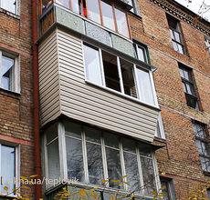 Балкон под ключ в сталинке