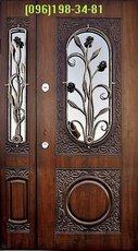 нові моделі вхідних дверей з склом
