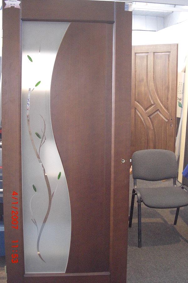 Двери ольховые масив
