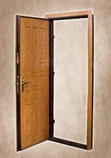 Двери входные металические с мдф накладками