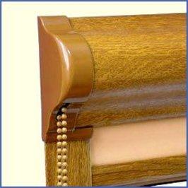 Рулонные шторы закрытый тип - миникасета, в Симферополе. Купить или заказать шторы-жалюзи в Украине. Сравнить цены на Окна.ua