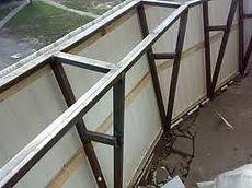 Вынос балкона (сварочные работы) по подоконнику недорого в Киеве