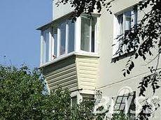"""Балкон """"под ключ"""" с выносом и обшивкой"""