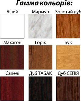 Подоконник пластиковый цветной, Openteck (Украина) 150Х2000