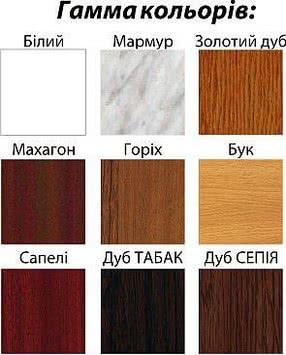 Подоконник пластиковый цветной, Openteck (Украина) 100Х5000