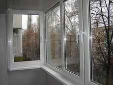 Окно WDS в остеклении балконов - надежно и практично!
