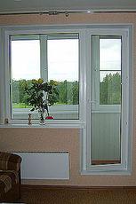 Окно WDS в балконном блоке - умеренные цены (Борисполь)!