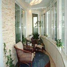 Остекление балконов профилем Salamander - доступная цена (Борисполь)!