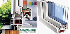 Эталон качества по недорогой цене - окно Salamander (Буча)!