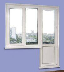 Окно металлопластиковое Salamander для балконного блока - недорого (Ирпень)!
