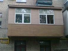 Балконы с выносом в Ирпене!