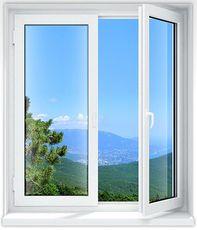 Окно Hoffen в рабочем кабинете! 1,6x1,6