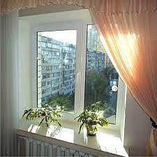 Окно кухонное WDS, фурнитура Sigenia.