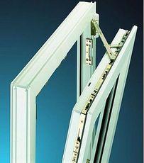 Окно одностворчатое поворотно-откидное Hoffen с фурнитурой Sigenia и однокамерным стеклопакетом габаритами 0,8х1,6 м