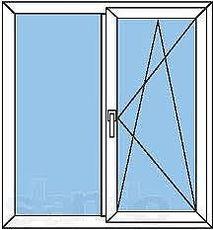 Окно Rehau (Германия) 1,2х1,5!