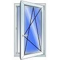 Окно rehau одностворчатое поворотно-откидное 850х1650 мм