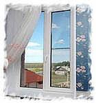Окна пластиковые с энергосберегающим стеклопакетом Rehau 1,05х1,05 м. Двухстворчатые металлопластиковые окна