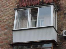 Вынос балкона из профиля WDS недорого!