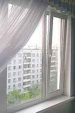 Окна из профиля Salamander Streamline с фурнитурой МАСО 1250Х1500