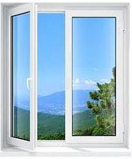 Окно в квартиру из профиля Internova 4000 с фурнитурой МАСО (Ирпень)