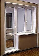 Балконный блок, профиль WDS 505, фурнитура Siegenia, стеклопакет двухкамерный