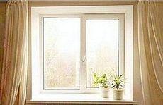Окно ALMplast наивысшей категории качества в гостинную с фурнитурой Масо - недорого, размер - 1,6 Х 1,0м