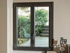 Окно профильной системы ALMplast с фурнитурой производства Масо в низшем ценовом секторе, размер окна - 1,0 х 0,7 м