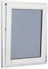 Окно из профильной системы от WDS одночастное с пленочной ламинацией, размер: 1,6 х 1,1 м