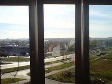 Пластиковое окно Интернова в гостиную, фурнитура МАСО