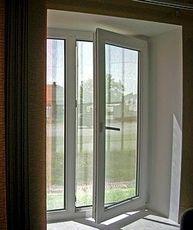 Окно из профильной системы от WDS, размер: 0,8 х 1,3 м