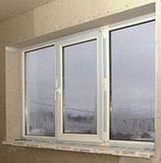 Окно профильной системы Алюпласт для комнаты - недорого