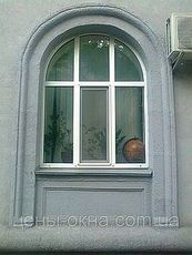 Пластиковое окно Aluplast в низшем ценовом диапазоне, размер окна: 1,6 х 1,5 м