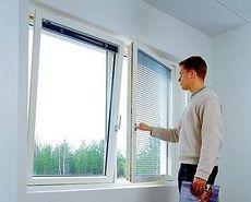 Окно профильной системы Rehau с теплым однокамерным стеклопакетом, фурнитура от Сиегения, размер окна: 1, 0 х 0, 9 м