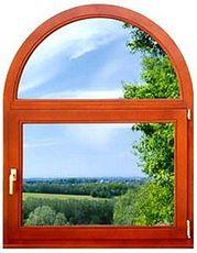 Окно ПВХ Fenster одностворчатое дачное, размер - 0, 6 х 1, 0 м