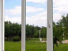 Окно ПВХ Саламандер поворотно-откидное, фурнитура Масо, размер окна: 1, 2 х 1, 0 м