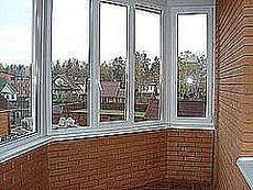 Эркерный балкон в доме в Буче