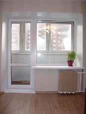 Salamander2d - пластиковое окно в балконном блоке по умеренной цене (Буча)