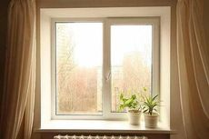 Окно Salamander для веранды (Вишневое)