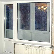 Окно WDS в балконном блоке - недорого (Буча)
