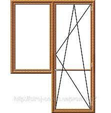 Окно WDS в балконном блоке - недорого (Васильков)