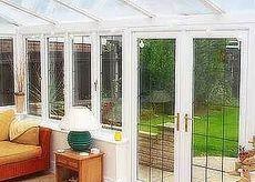 WDS cистемы окон и дверей для веранды - отличное качество по умеренной цене (Вишневое)