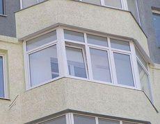 Пластиковое окно Rehau для лоджии - практичное, доступное (Ирпень)