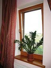 Одностворчатое поворотно-откидного окно из профиля Rehau E60 размером 900х1800мм