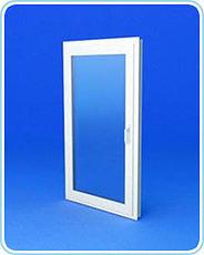 Одностворчатое поворотно-откидного окно из профиля Rehau E60 размером 950х900мм