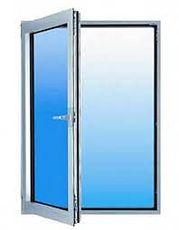 Одностворчатое окно из профиля ALMplast, с фурнитурой Maco и двухкамерным стеклопакетом