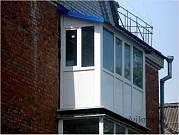 Пластиковый балкон под ключ